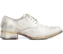 Derby-Schuhe mit niedrigem Absatz