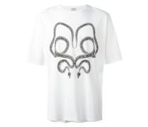 - T-Shirt mit Schlangen-Print - men - Baumwolle