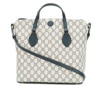 - Handtasche mit Logomuster - women