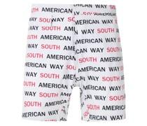 """Badeshorts mit """"South American Way""""-Print"""
