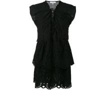 Kleid mit Schnürung - women - Baumwolle - 36