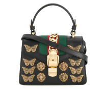 Sylvie Animal Studs top handle bag