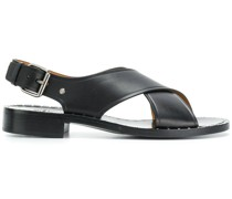 crisscross flat sandals