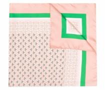 Seidenschal mit geometrischem Print