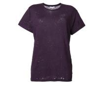 T-Shirt in Distressed-Optik - women