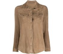 Hemdjacke aus Wildleder