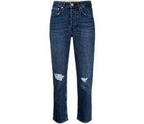 Maya Cropped-Jeans
