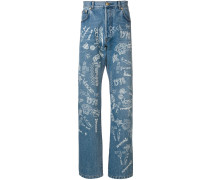 'Love From Donatella' Jeans