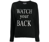 Pullover mit Slogan