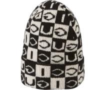 Mütze mit Schachbrettmuster