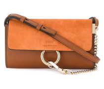 - Tobacco Faye chain wallet Bag - women