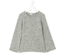 Pullover mit aufgerauter Naht