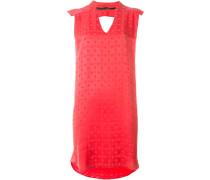 Lockeres Kleid mit Stern-Print