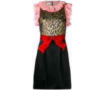 Ärmelloses Kleid mit Schleife