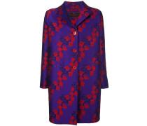 Mantel mit Sakura-Print