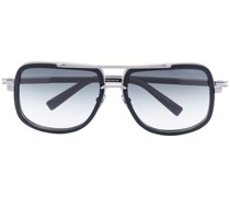 Eckige 'Mach' Sonnenbrille