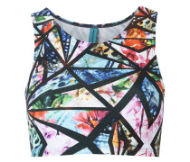 printed cropped top