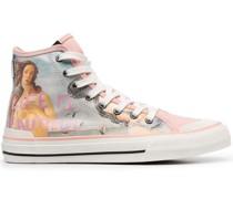 The Birth of Venus-print sneakers