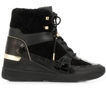 High-Top-Sneakers mit Absatz