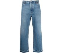 Jeans im Materialmix