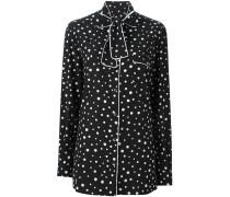 Pyjama-Hemd mit Punkte-Print