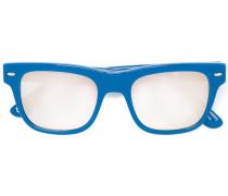 Eckige Sonnenbrille - men - plastic