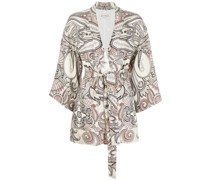 Kimono mit Paisleymuster