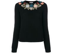 floral applique jumper