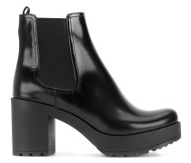 Chelsea-Stiefel mit Plateausohle