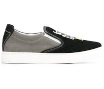 Slip-On-Sneakers mit Print - kids