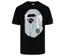 A BATHING APE® Aurora Big Ape Head T-Shirt