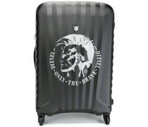 Koffer mit Logo-Detail