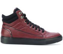 High-Top-Sneakers aus Kalbsleder