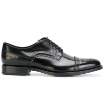 straight tip brogues