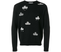 Cloud embroidered jumper