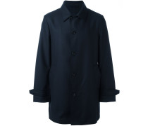 Mittellanger Mantel mit einreihigem