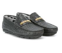 Loafer mit eckiger Kappe