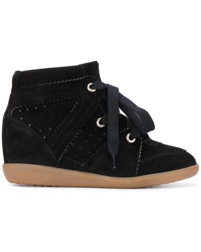 'Bobby' Sneakers mit Keilabsatz