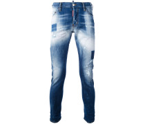Jeans in Washed-Optik