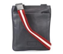 striped shoulder strap messenger bag
