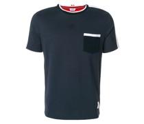 T-Shirt in Colour-Block-Optik