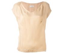 - Bluse mit V-Ausschnitt - women - Bemberg Cupro®