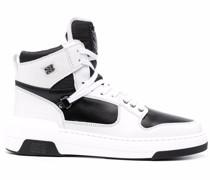 High-Top-Sneakers mit Einsätzen