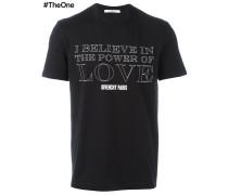 "T-Shirt mit ""Power of Love""-Print"