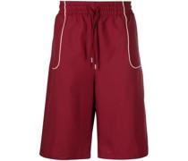 Shorts mit Kontrastdetail