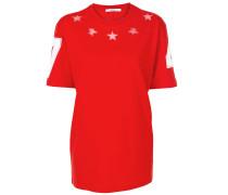 cut out star detail T-shirt