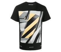 T-Shirt mit Fahrzeug-Print