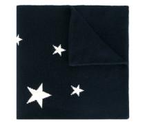 Intarsien-Schal mit Sternenmuster - women