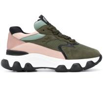 'H540' Sneakers in Colour-Block-Optik