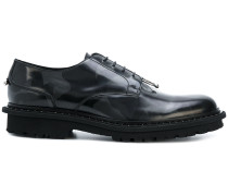 Derby-Schuhe mit Camoufage-Print